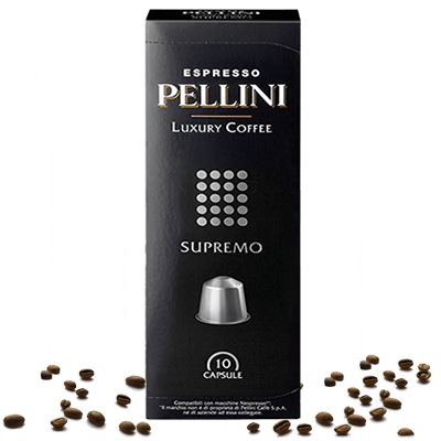 Pellini Supremo Kapseln für Nespresso® - 10 Kapseln