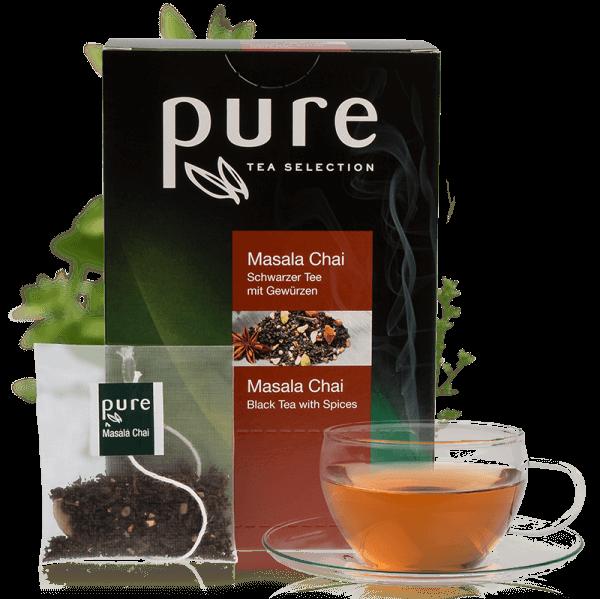 Pure Tee Selection Masala Chai 1 VE-25 Beutel