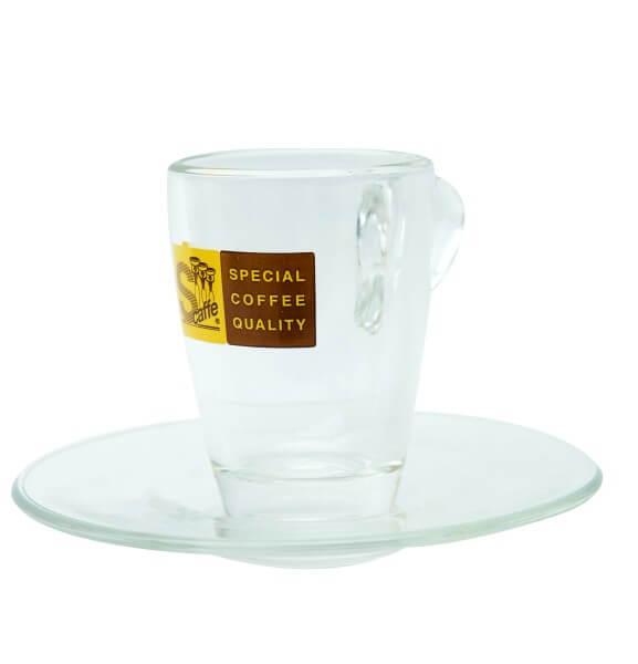 Schreyögg Glas Espresso Tasse