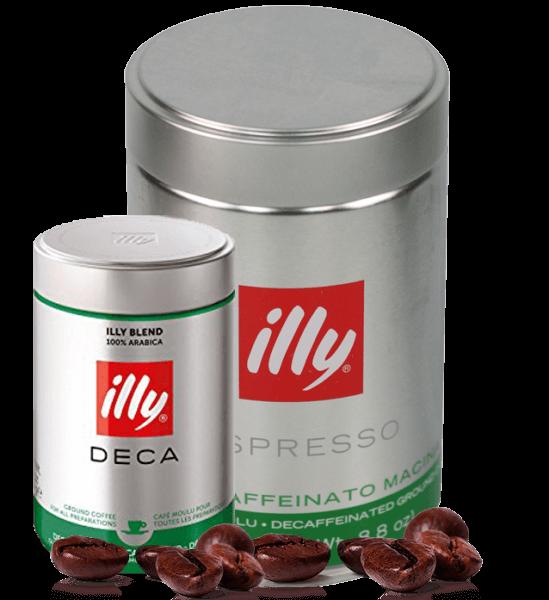 Illy Espresso koffeinfrei 250g gemahlen