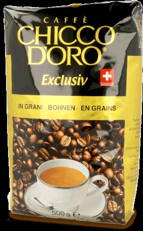 Chicco d'Oro Exclusiv, Kaffee Espresso 500g Bohnen