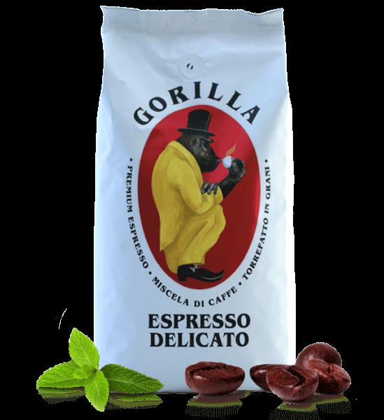 Gorilla Kaffee Espresso Delicato 1kg Bohnen