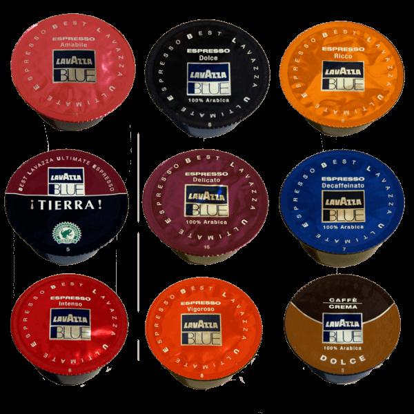 Lavazza Blue Kapsel Probierpaket
