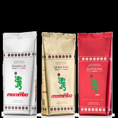 Mocambo Probierpaket 3 x 250g Bohnen