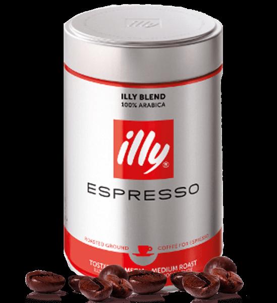 Illy Espresso Röstung N rot 250g gemahlen