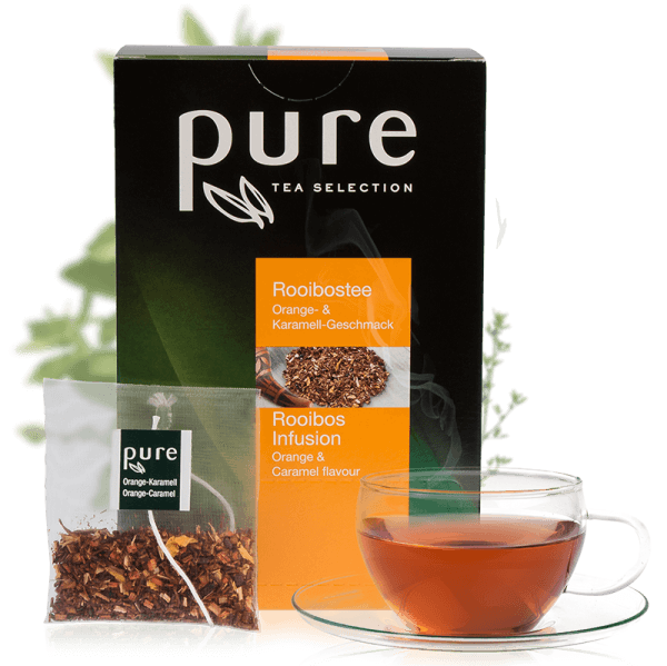 Pure Tee Selection Rooibos Orange & Karamell 1 VE-25 Beutel