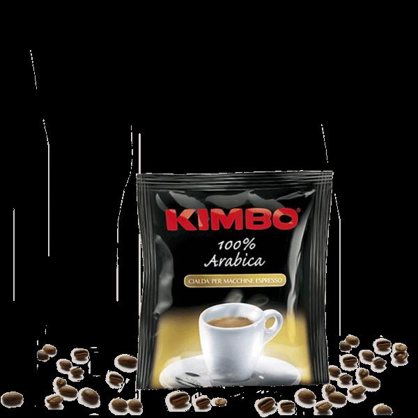 Kimbo Kaffee Espresso Arabica ESE, 200 Kaffeepads