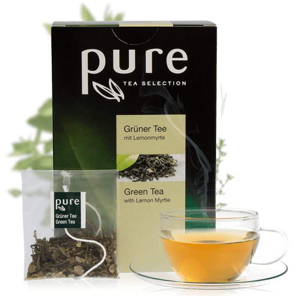 Pure Tee Selection Grüner Tee mit Lemonmyrte 1 VE-25 Beutel