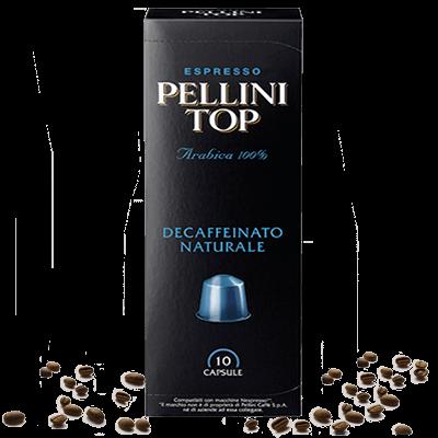 Pellini Top Decaffeinato Kapseln für Nespresso® - 10 Kapseln