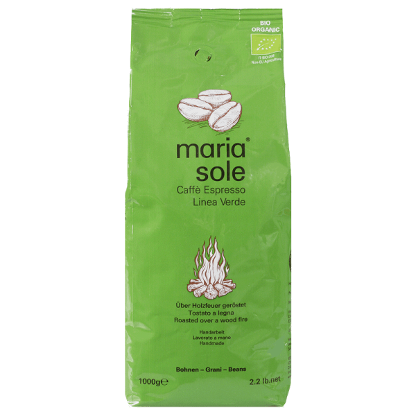 Maria Sole Caffe Espresso Linea Verde 1kg Bohnen