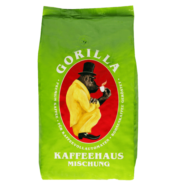 Gorilla Kaffeehausmischung 1kg Bohnen