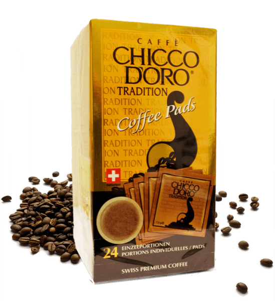 Chicco d'Oro Coffee Pads 24 Stk