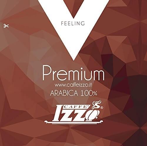 Izzo Gold 100 % Arabica ESE-Pads - 150 Kaffeepads