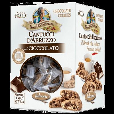 Cantucci d'Abruzzo al Cioccolato 1kg