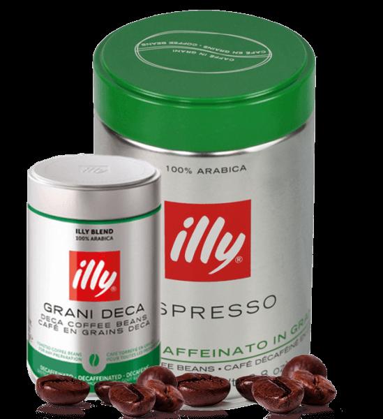 Illy Espresso koffeinfrei 250g Bohnen