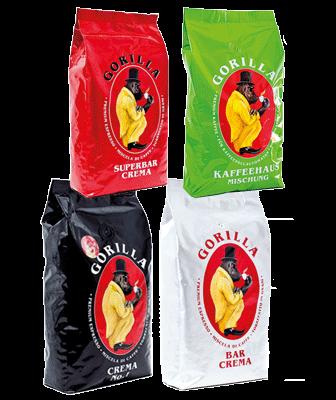 Gorilla Kaffee Probierpaket